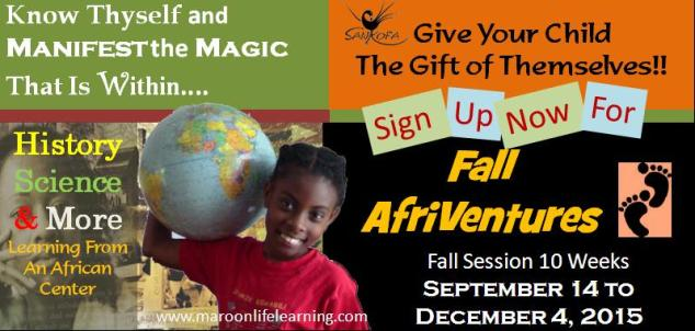 Fall 2015 AfriVentures