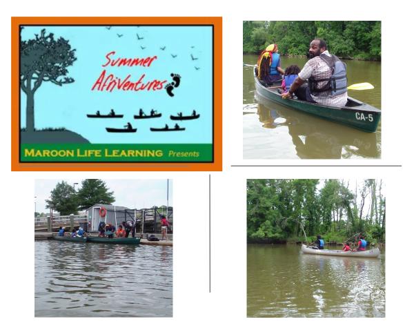 Canoeing Fun Anacostia